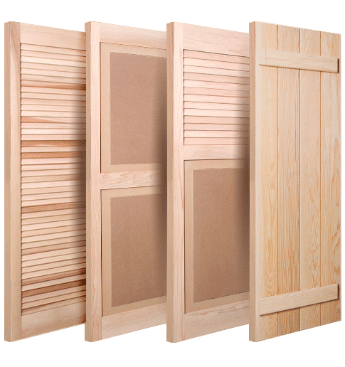 ShutterLand Exterior Shutters Online - Wood, Louvered, Paneled, Batten