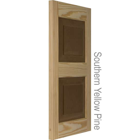 Affordable Raised Panel Shutters Pine Exterior Shutters By Shutterland
