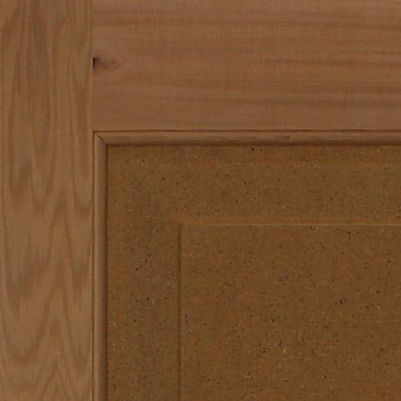 Wood exterior cedar shutter for DIY home improvement.