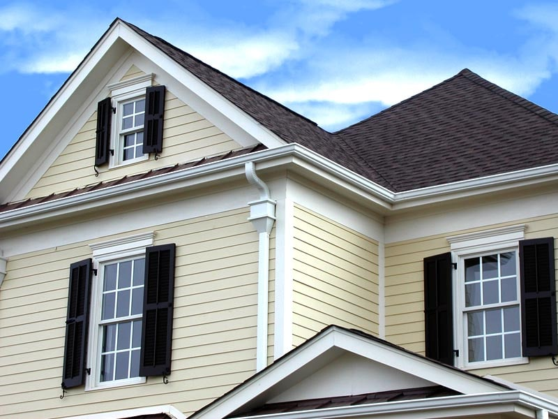 Exterior Black Shutters on Your House